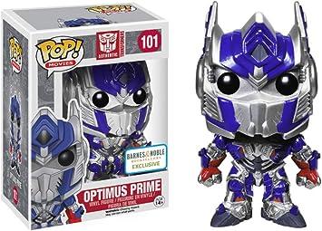 Optimus prime Transformers #101 Funko pop vinyl RARE mettalic