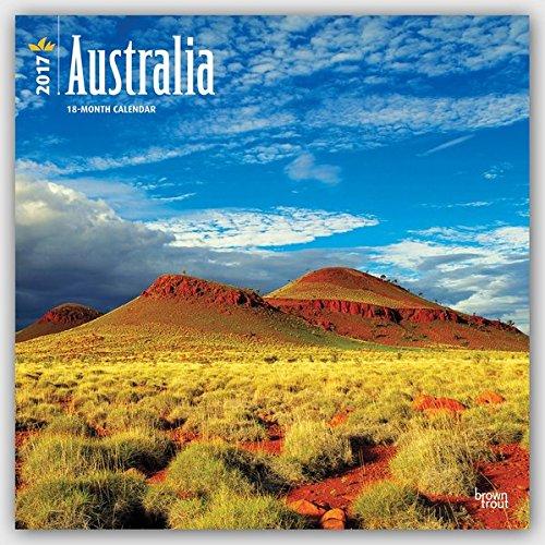 Australia - Australien 2017 - 18-Monatskalender mit freier TravelDays-App: Original BrownTrout-Kalender [Mehrsprachig] [Kalender] (Wall-Kalender)