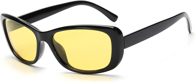 Yellow lens Sunglasses Anti glare Driving Glasses Night Vision Glass Driving