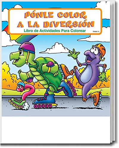 Fun to Color in Spanish (en Español) Kids Educational Coloring & Activity Books in Bulk (25 Pack)
