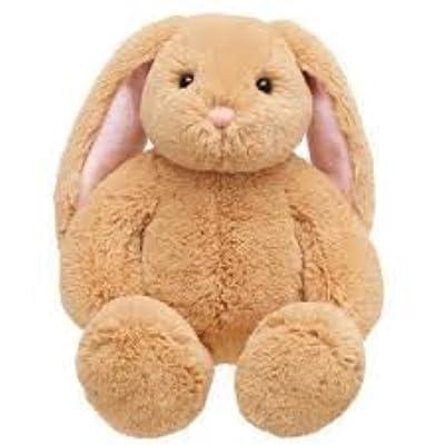 Build A Bear Workshop BABW Light Brown Cream Lil Bunny Big Ears Plush Stuffed Animal: Toys & Games