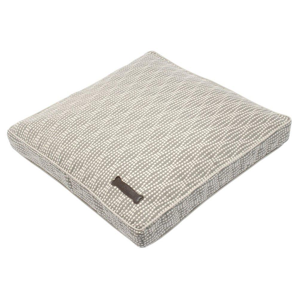 Jax and Bones Pearl Premium Cotton Blend Rectangular Pillow Dog Bed, Large