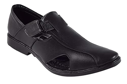 Mbs collection men black sandal: buy online at low prices in india