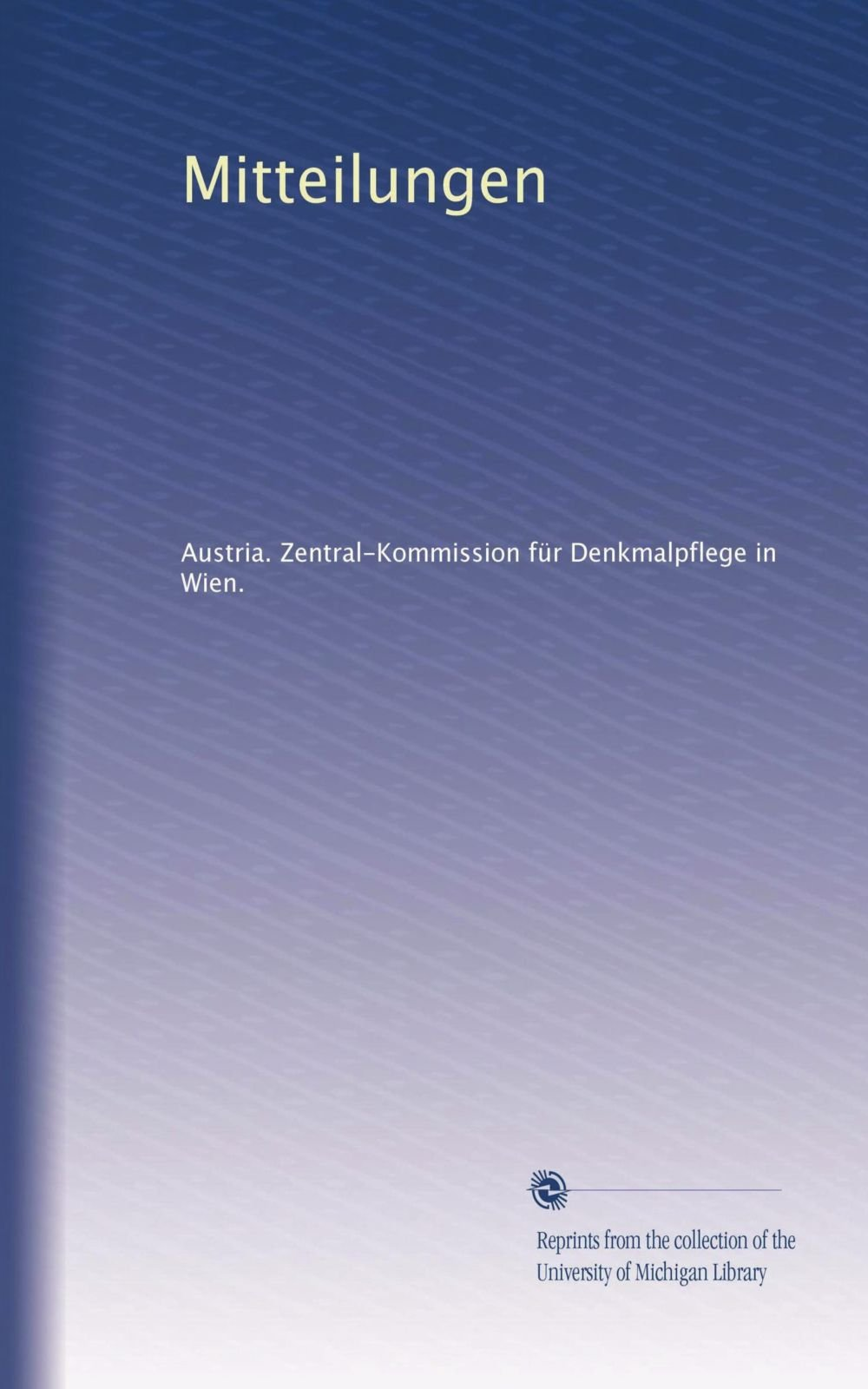 Mitteilungen (Volume 27) (German Edition) ebook