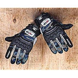 Axor Breeze EVO Blue Camo Gloves-XXL