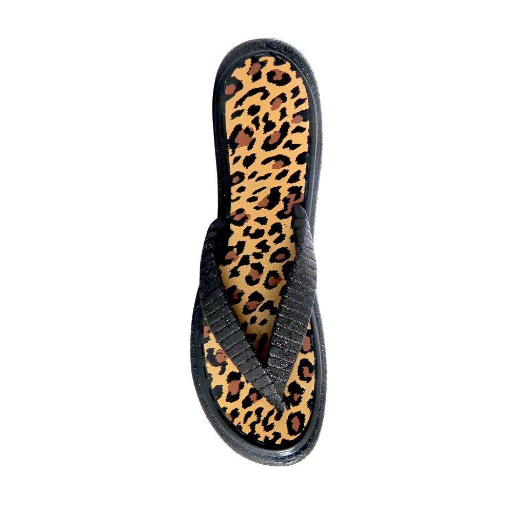 SolClip Flip Flop Leopard Beach Towel Clips Pinces /à Serviette de Plage Set of 2