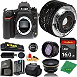 Great Value Bundle for D750 DSLR – 50MM 1.8D + 16GB Memory + Wide Angle + Telephoto Lens + Case
