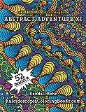 img - for Abstract Adventure XI: A Kaleidoscopia Coloring Book (Volume 11) book / textbook / text book