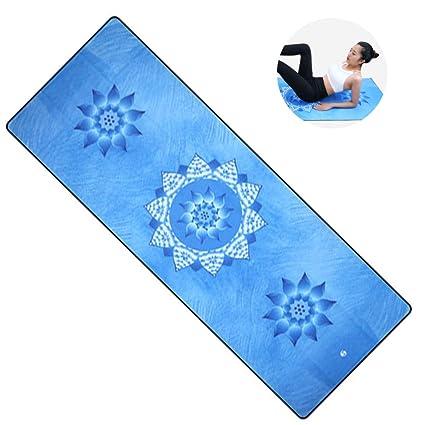 Esterilla Yoga De Viaje-Yoga Antideslizante Yoga Mat 2-in-1 ...