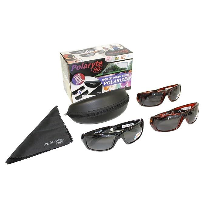 2 pares de gafas de sol JML Polaryte HD de carey con ...