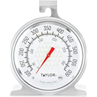 Taylor 3506 TruTemp Series Oven / Grill Analog Dial Thermometer with Dual-Scale