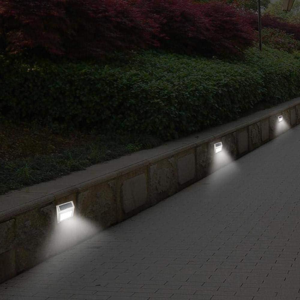 1/2/3 / 4pcs Solarlicht Edelstahllicht LED Wasserdichtes Solargartenlicht Energiesparendes Gartenlicht im Freien Treppen Terrasse Garagenlicht-4pcsType A. 2 Stück Typ B.