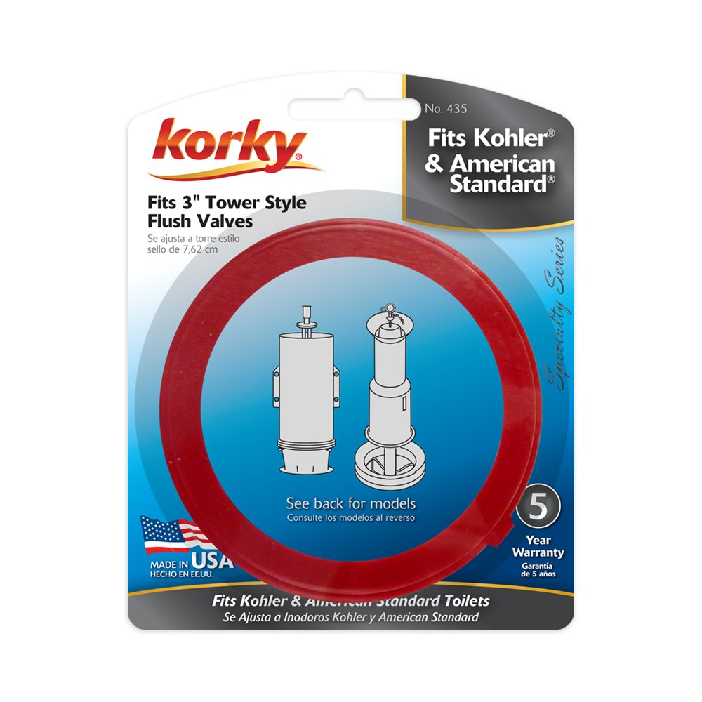 Korky 435BP Universal Toilet Flush Valve Seal Kit - Replaces ...