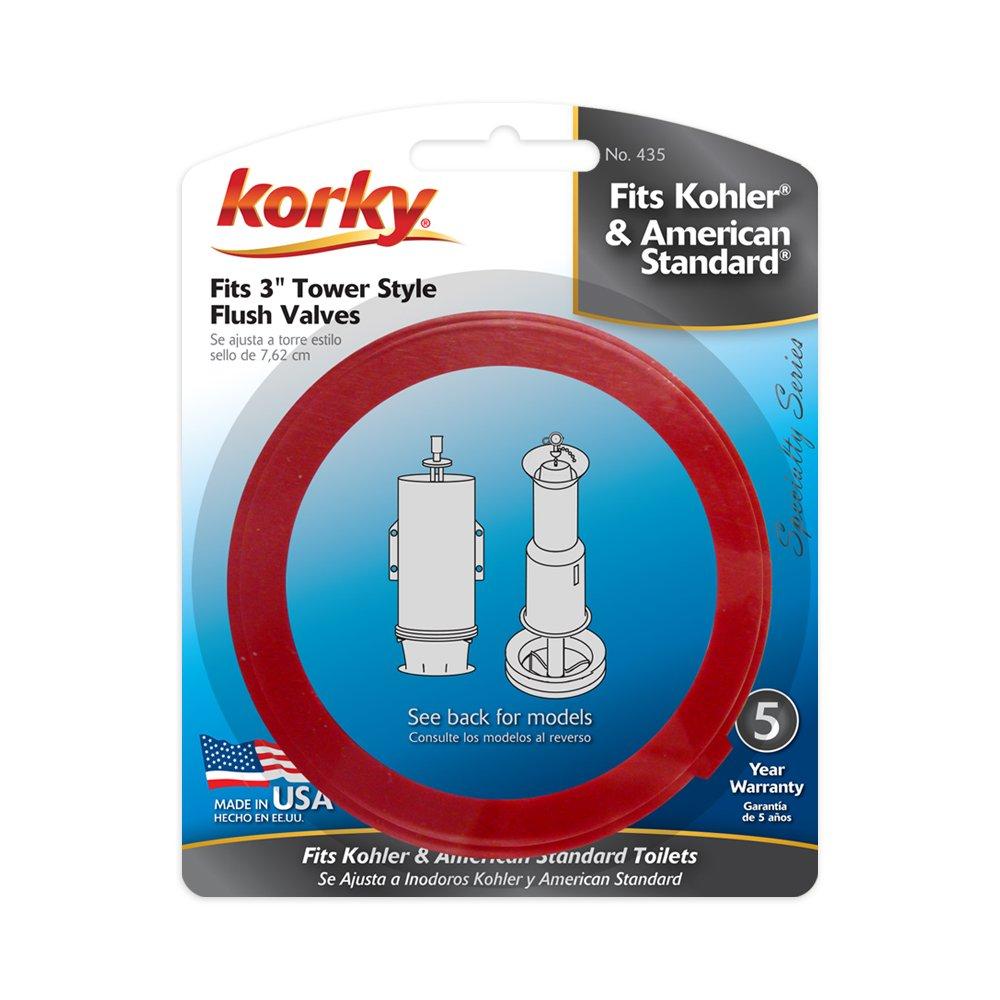 Korky 435BP Universal Toilet Flush Valve Seal Kit - Replaces ...