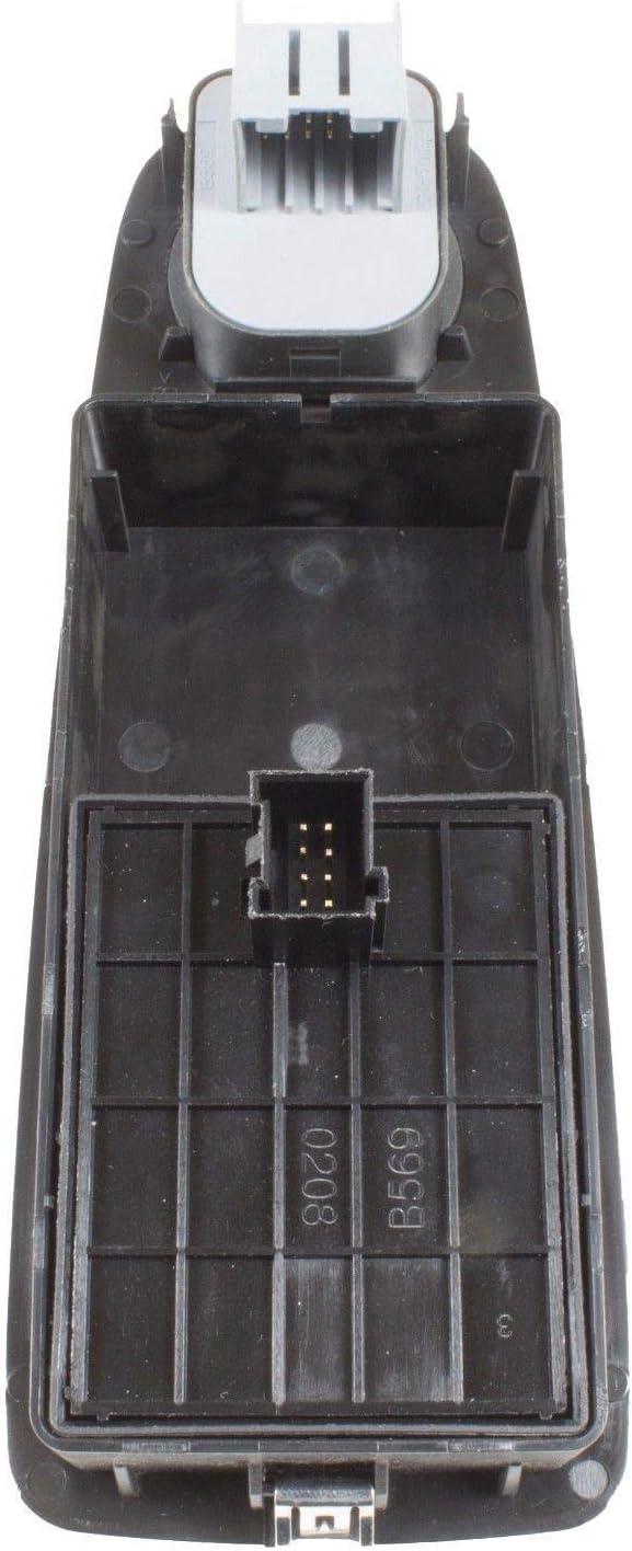 6490.X9 C/ôt/é Conducteur Commutateur Commande Bouton L/ève-Vitre Avec R/étroviseur Ajusteur