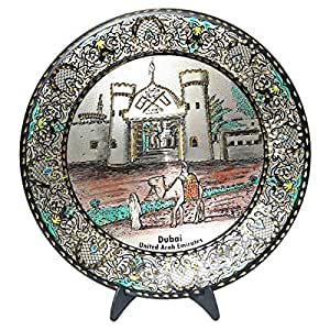 Rmazoti Metal Multi Color Decorative Accessory, 22 Cm