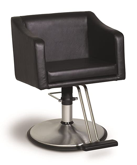 Black Leather Belvedere LK12 Styling Chair
