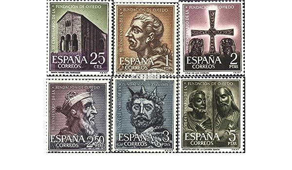Prophila Collection España Michel.-No..: 1289-1294 (Completa.edición.) 1961 Oviedo (Sellos para los coleccionistas): Amazon.es: Juguetes y juegos