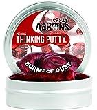 Crazy Aaron's Putty World シンキング パティ プレシャス・ジェムズ シリーズ EU安全規格適合 内容量45g スモールサイズ Made in USA 日本正規代理店品 【 バーミーズ・ルビー 】 BR011