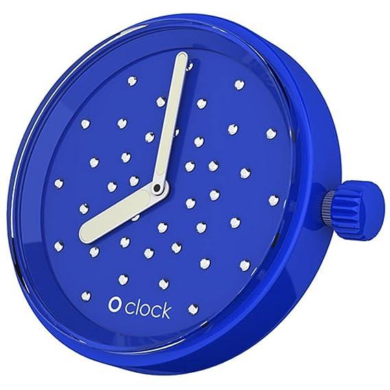 Cristal o reloj reloj cara - azul zafiro - Fullspot ocf50: Emanuele Magenta: Amazon.es: Relojes