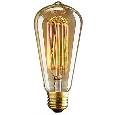 40W E27 Vintage Edison Ampoule Rétro Industrie Ampoule Edison Filament De Tungstène Lampe à Incandescence Classique Chaud