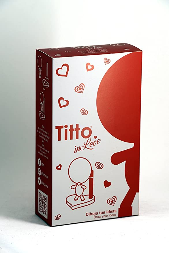 Amazon.com: Titto en el amor – Draw sus ideas – Pizarra ...