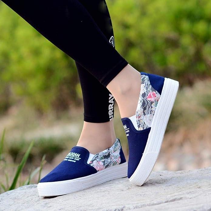 Logobeing Zapatos Comodos Mujer Mocasines Mujer Zapatos Planos Zapatos Tejidos Zapatos Corrientes Casuales Zapatos Antideslizantes Correr Zapatillas ...