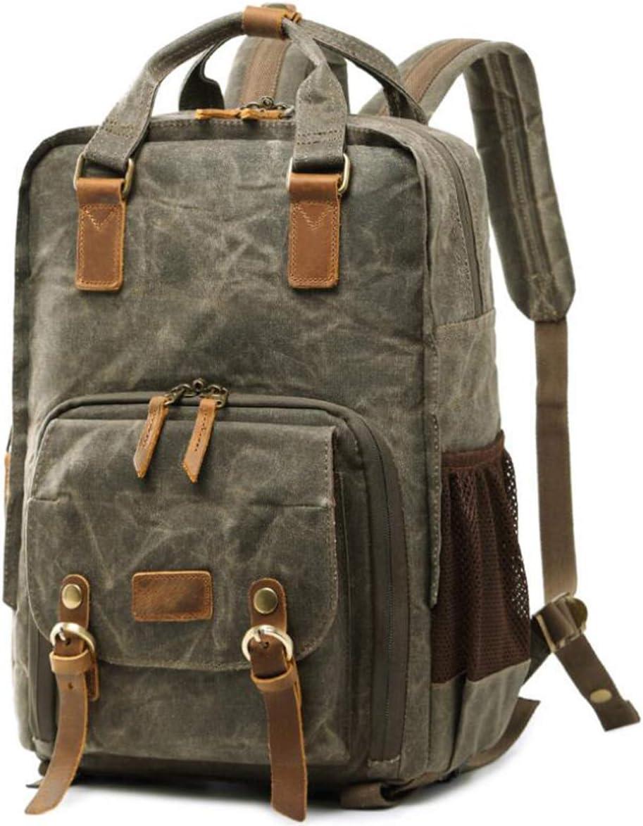 Outdoor Shoulder Retro Bag Single Batik Waterproof Lightweight Canon Photography Backpack ZMJY Professional Camera Bag