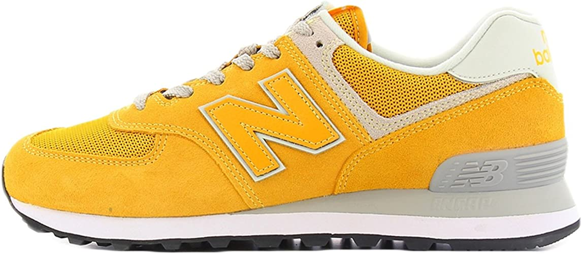 new balance uomo 574 gialle