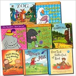 Julia Donaldson The Gruffalo Pack Set, 8 Books, RRP: £49 90 (Zog