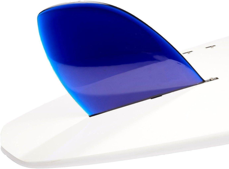 Blue DORSAL Rudder Surf SUP Longboard Surfboard Fins D-Fin