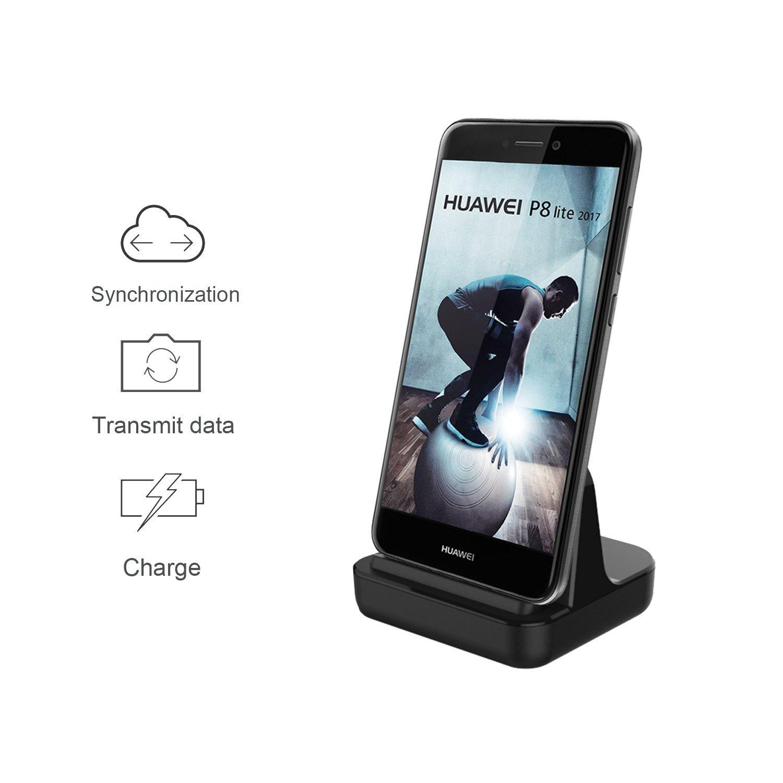 Micro USB Dock Estación de Cargador, TUOYA Micro USB Estación de Cargador de Muelle Carga Rápida y Sincronización Base Dock de Carga para Samsung ...
