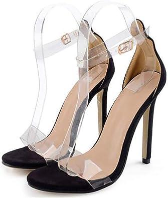 Sale PVC Women Platform Sandals 11.5CM