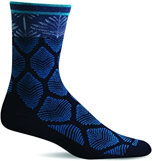 product image for Sockwell Flapper Sock- Women's Navy Small/Medium