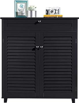 YAHEETECH Shoe Cabinet Bathroom Storage