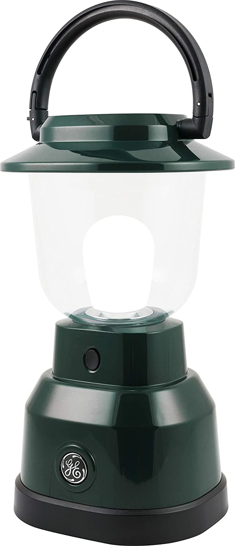Enbrighten 11016 LED Camping Emergency Lantern, Battery Powered, 500 Lumen, 180 Hour Run Time, Green