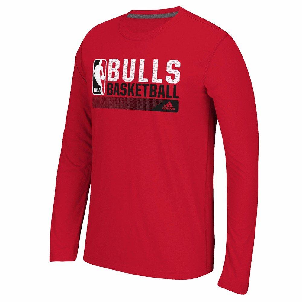 adidas Chicago Bulls NBA Rojo Condición de Icono Climalite ...