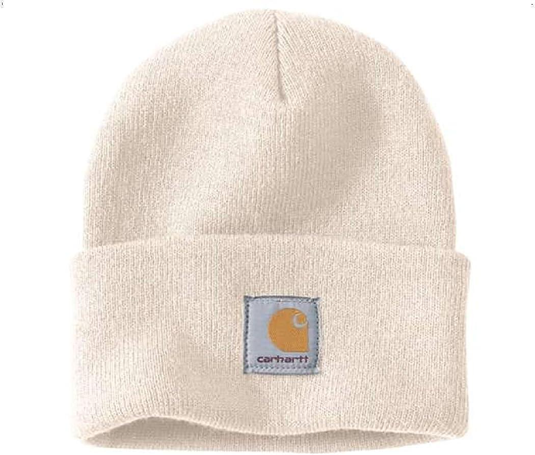 Carhartt A18 Watch Hat Beanies Original One Size Unisex 100 Polyacryl Elastic White Amazon Co Uk Clothing