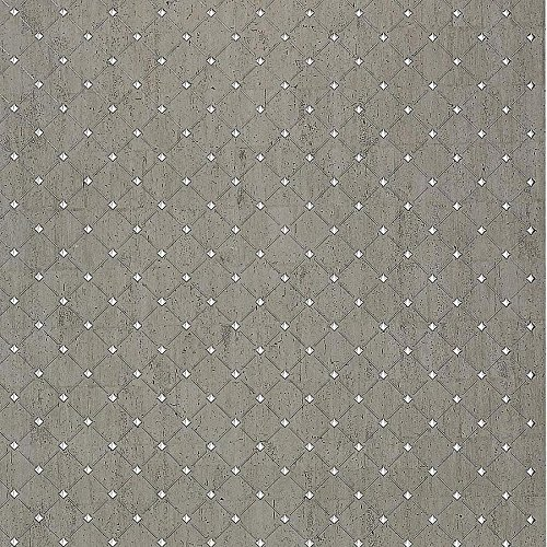 WallFace 17857 3D Wall panel self-adhesive Mosaic decor Luxury wallcovering self-adhesive platin grey silver | 2,60 sqm by Wallface (Image #4)