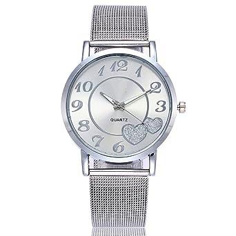 Amazon.com: Bravetoshop - Reloj de pulsera para mujer ...