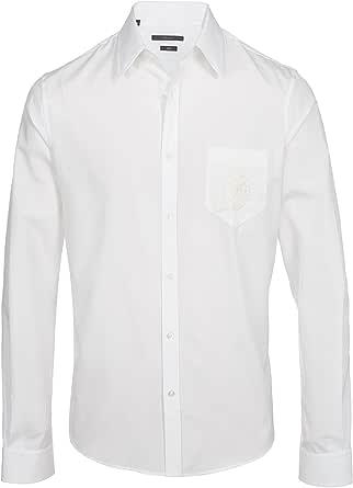 Gucci - Camisa formal - Camisa - para hombre Weiß 45: Amazon ...