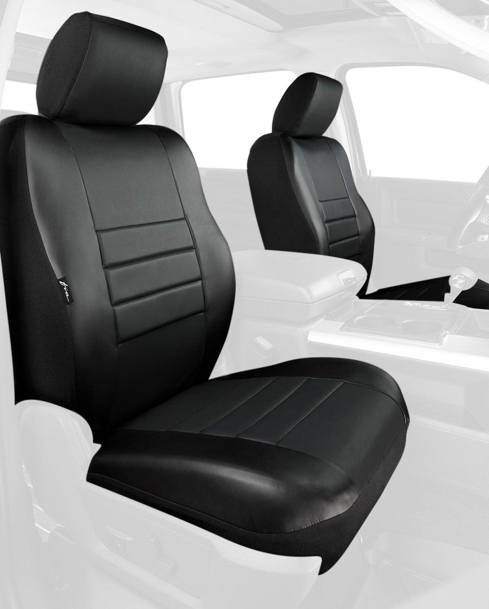 Cheap Fia Sl68 22 Blk Blk Custom Fit Front Seat Cover