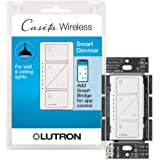 Lutron Caseta Smart Home Dimmer Switch, Works with Alexa, Apple HomeKit, and the Google Assistant | for LED Light Bulbs, Inca