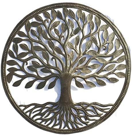 Organic Tree of Life Decorative Wall Hanging Artwork