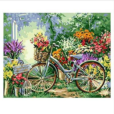Msliuhuahua Colorear por Números, Pintar por Número, Cuadro, Flor ...