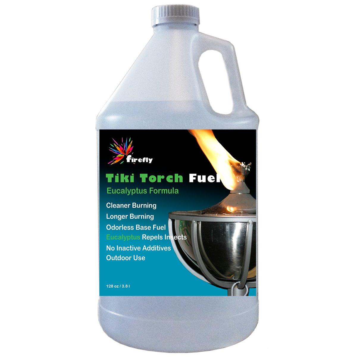 Firefly(ファイヤフライ)ティキトーチ燃料 1 Gallon tf-128-e B00A8RP6E0 1 Gallon|Eucalyptus Oil Formula Eucalyptus Oil Formula 1 Gallon