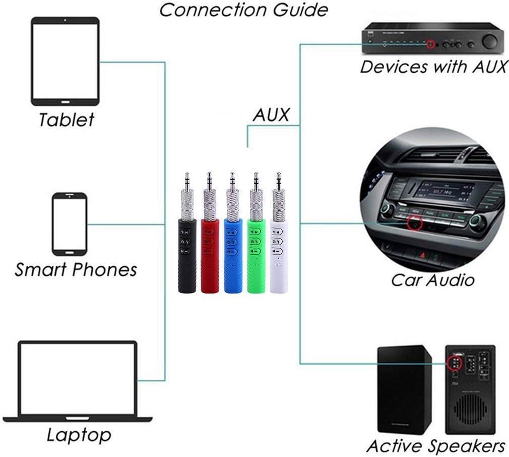 BlackEdragon 3,5 mm Buchse Car Kit Freisprecheinrichtung Audio Audio Receiver Adapter Auto AUX Kit Schwarz