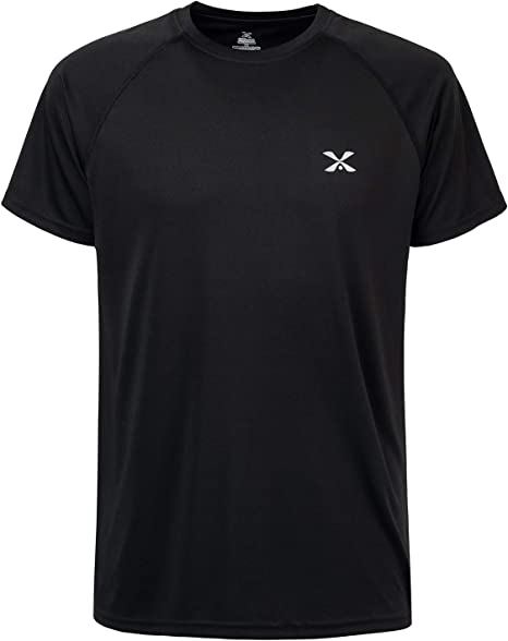 Men's Dri Fit Short Sleeve Tee Athletic Workout Running T-Shirts
