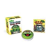 Sesame Street: Oscar the Grouch Talking Button (Miniature Editions)