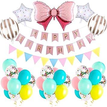 Specool 30PCS de Decoraciones para cumpleaños, artículos ...